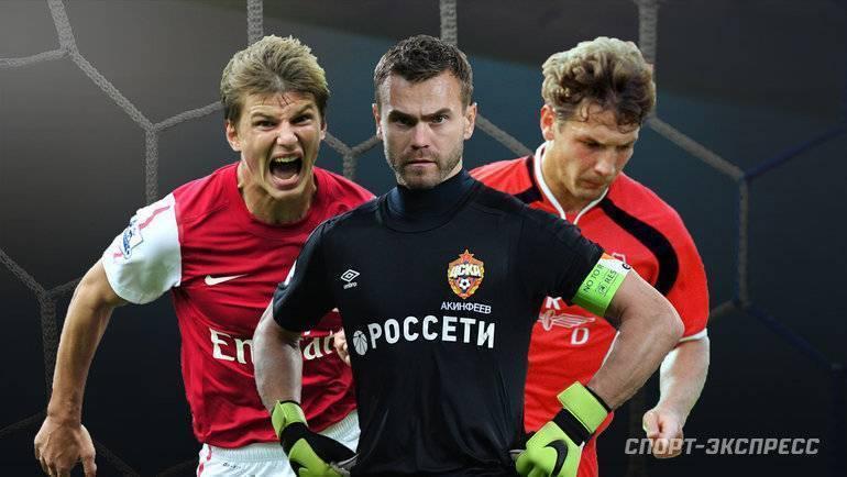 Великие футболисты россии и ссср