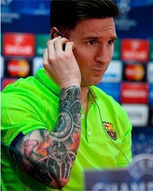 Самые татуированные футболисты мира