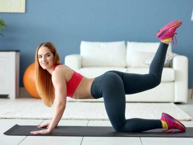 Упражнения для большой ягодичной мышцы дома
