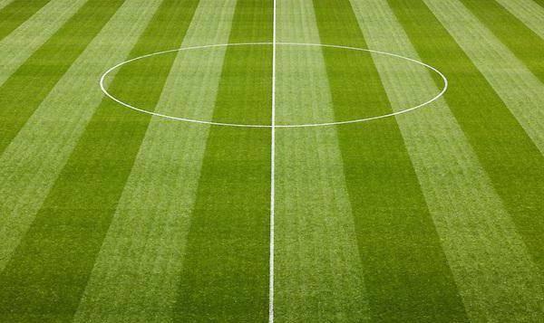 Почему газон полосатый на футбольном поле. как газон на футбольном поле делают полосатым