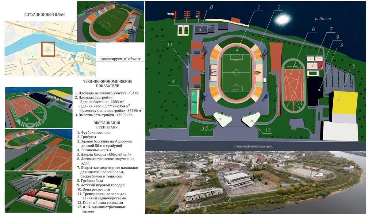 Разметка легкоатлетического стадиона
