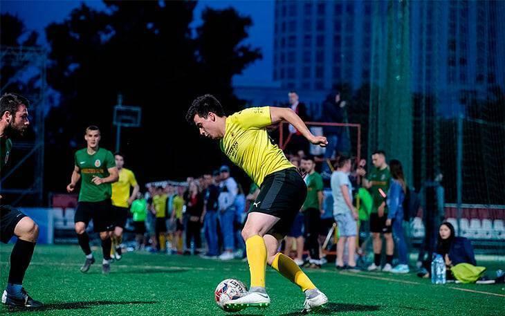 Тактика футбола 8 на 8