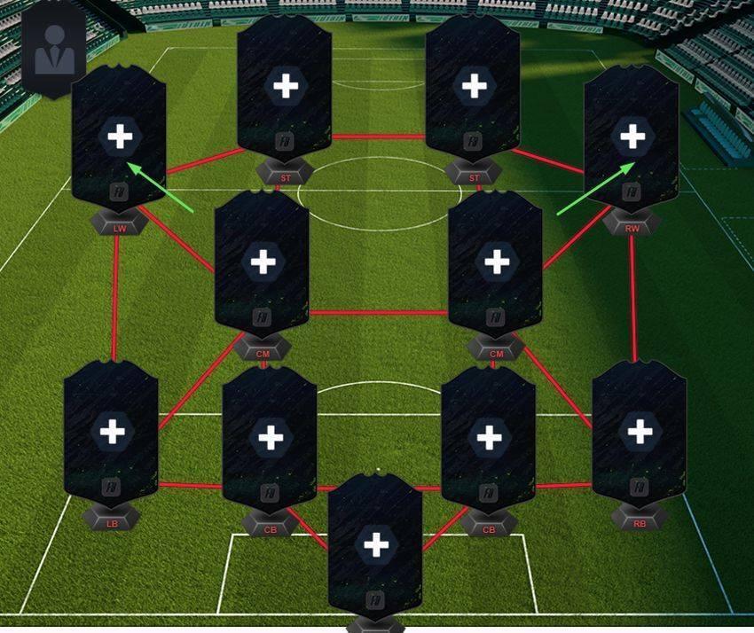 Схема 4-2-3-1 в футболе