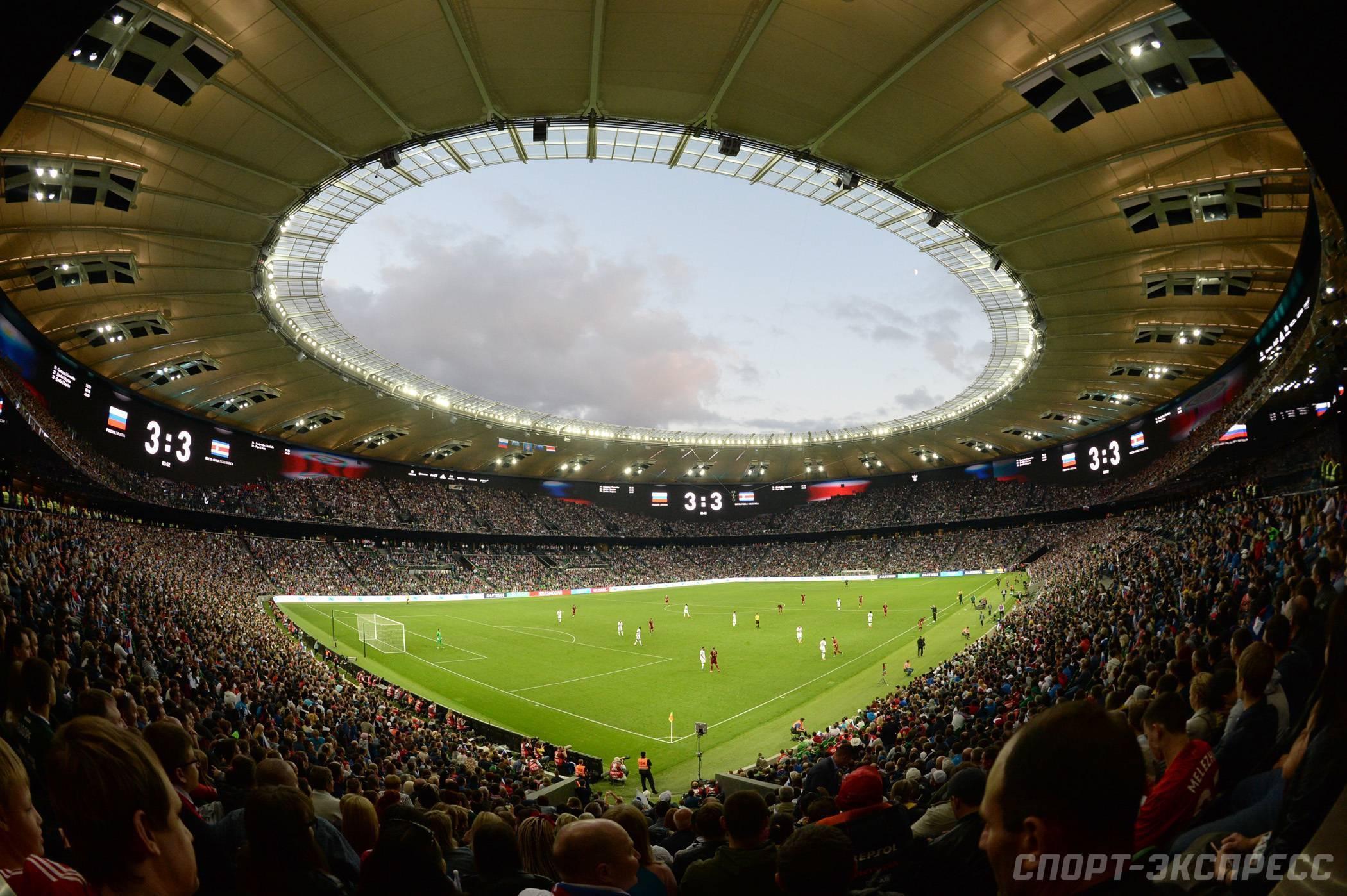 Самые большие футбольные поля мира по размеру. топ самых больших стадионов в мире по футболу
