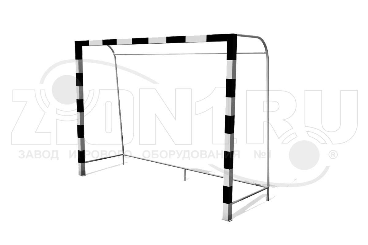 Размер футбольных ворот в метрах по стандарту