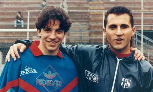 В конце 90-х дель пьеро и роналдо были как месси и криш. они конкурировали в клубах-врагах и улучшали друг друга