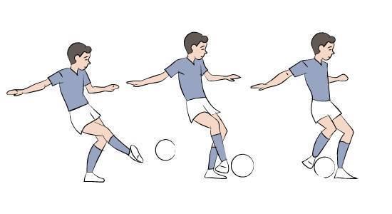Техника ведения мяча