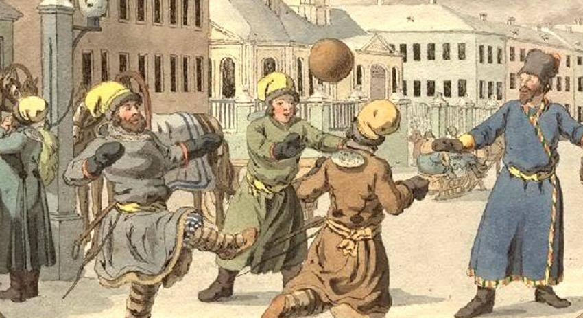 История зарождения футбола в россии
