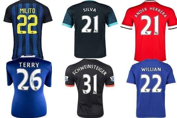 Номера футболистов: какие цифры на футболках у звёздных игроков?
