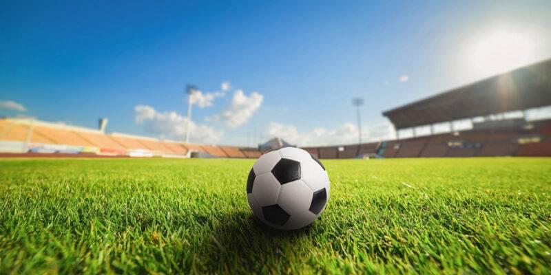 Устройство искусственного газона футбольного поля