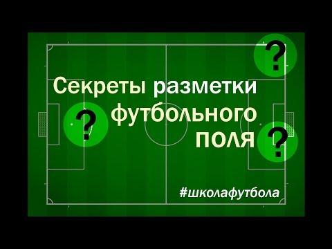 Разметка поля в футболе – размеры футбольной площадки, правила нанесения разметки и основные типы инвентаря для футбола