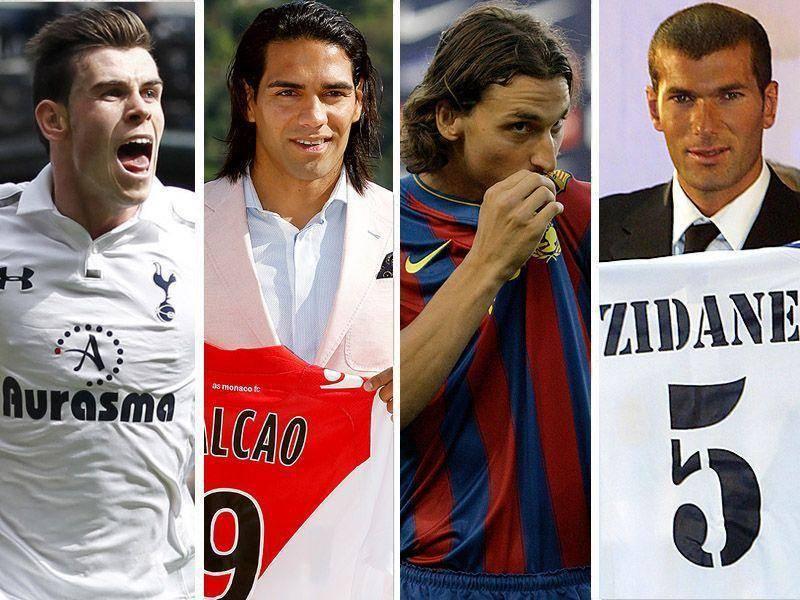 Топ-10 самых дорогих трансферов в истории футбола