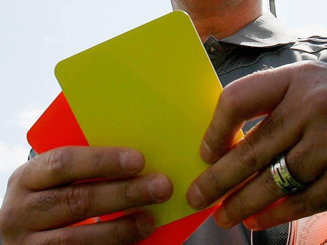 Что означает красная карточка в футболе? красная карточка в футболе: статистика и правила