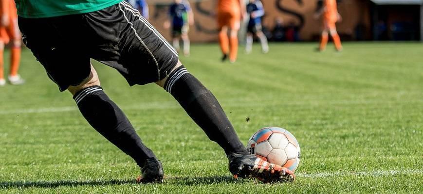 Тренировка футбольного вратаря