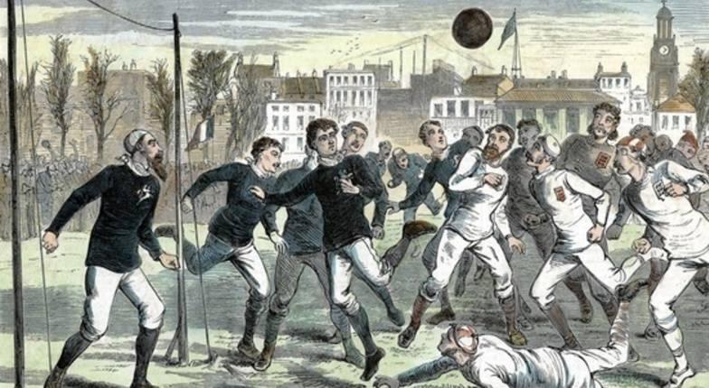 История возникновения футбола, правила игры, выдающиеся спортсмены