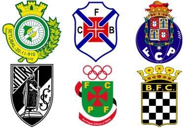 Список футбольных клубов португалии