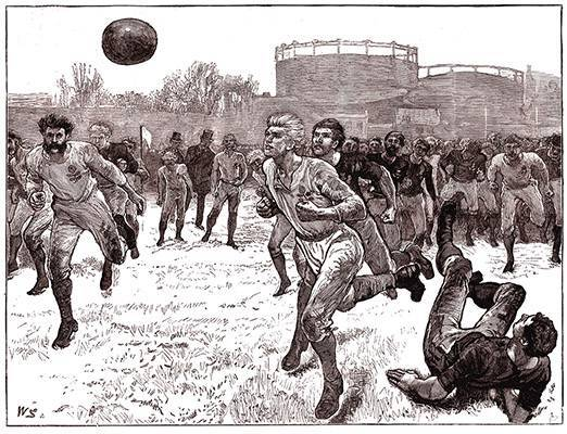 История возникновения футбола: от древности до наших дней