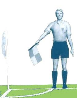 Жесты судьи в футболе и их значение