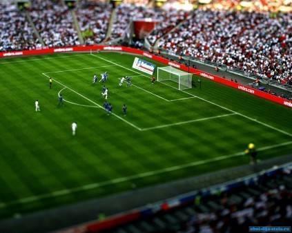 Почему футбольное поле полосатое и зачем ему полосы? почему футбольное поле полосатое, а также как и зачем делают полосы на полях разного цвета.