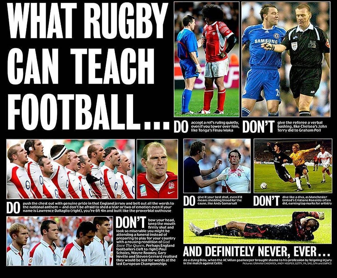 Американский футбол и регби: в чём разница?