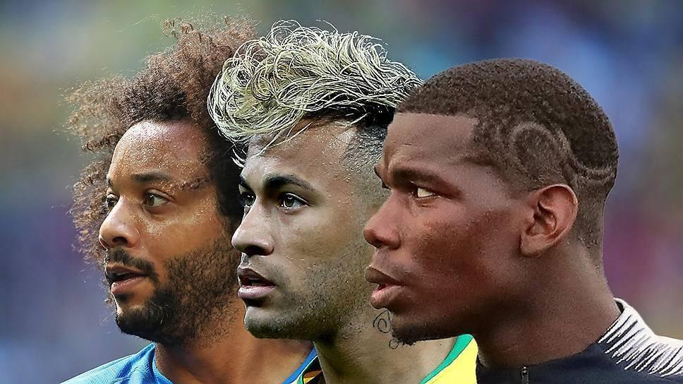 Прически и стрижки звезд мирового футбола