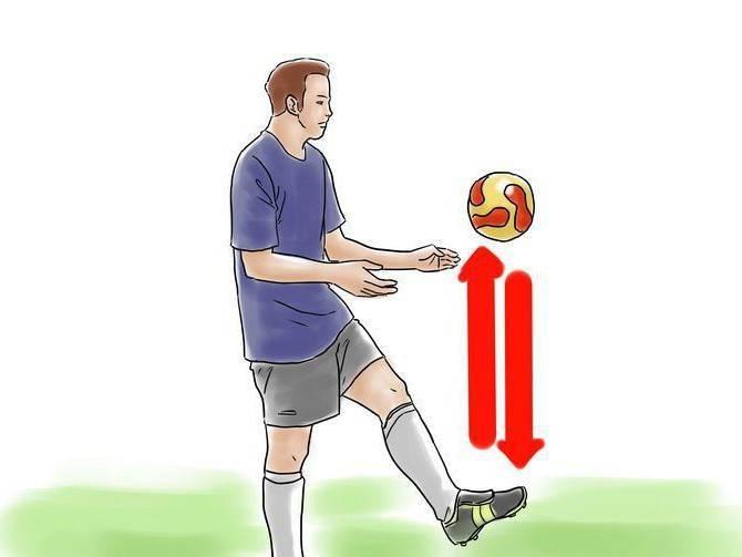Чеканка мяча