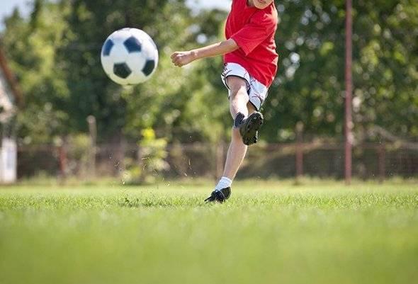 Польза футбола для детей это