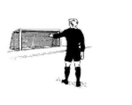 Жесты судей в футболе