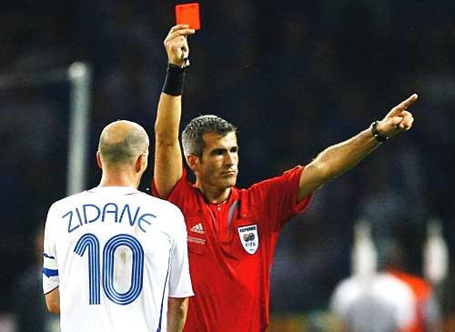 Желтая и красная карточка